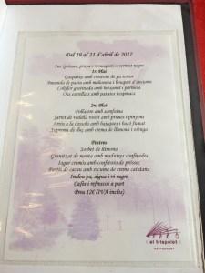 menu el trispolet