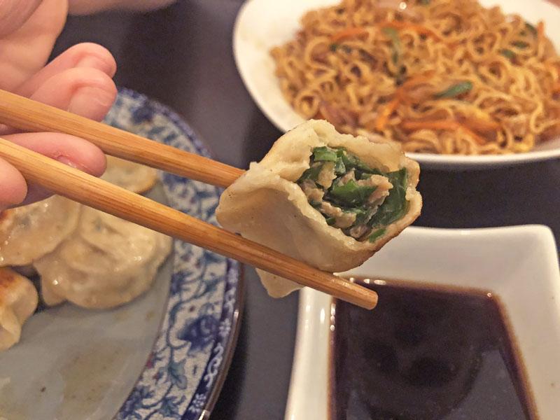 tapa de china restaurante
