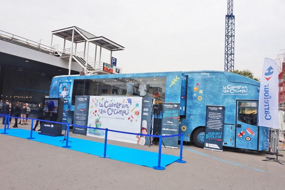 La Caravana de la Salud de Carrefour, apadrinada por Ferran Adrià y Disney, arranca en Barcelona