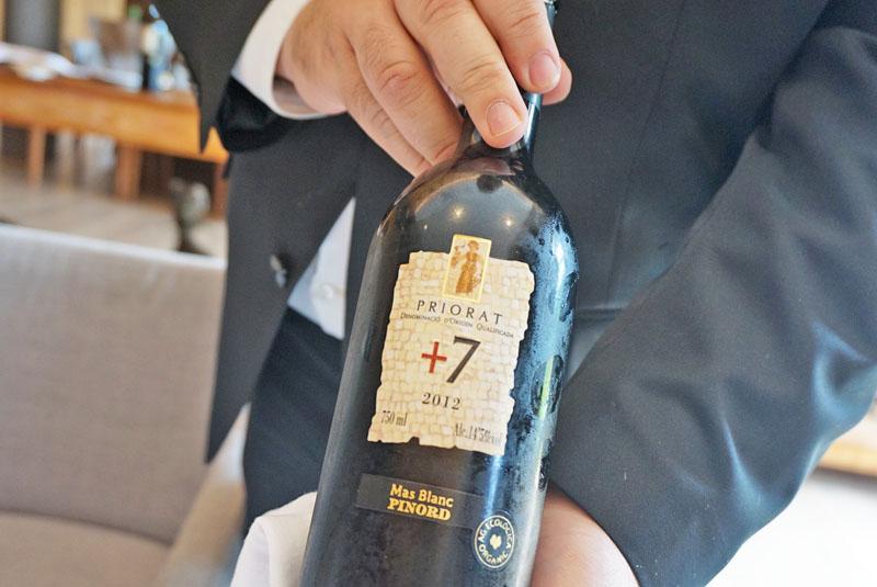 mas salagros Priorat +7 2017 Mas Blanc de la Bodega Pinord