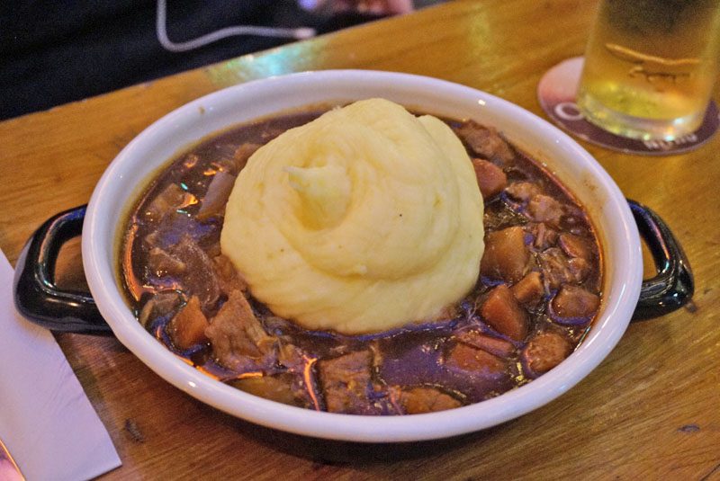 the celt pub dublin traditional beef and guinness stew