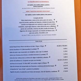 menu windsor restaurant