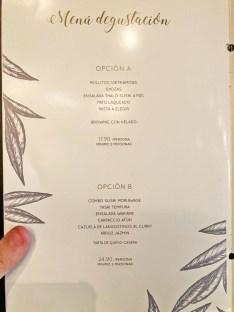 menu mutsu restaurante