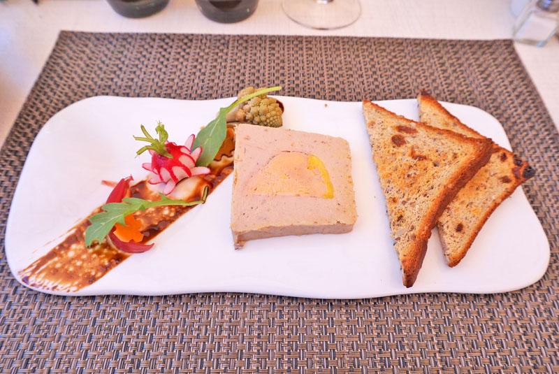 auberge des lices carcassonne foie gras