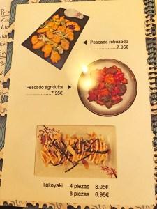 menu heramen restaurante