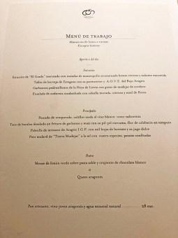 menu aragonia palafox