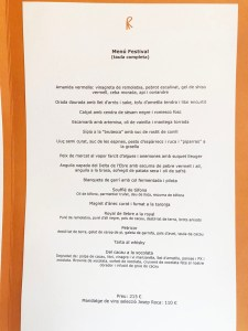 menu festival el celler de can roca 2019