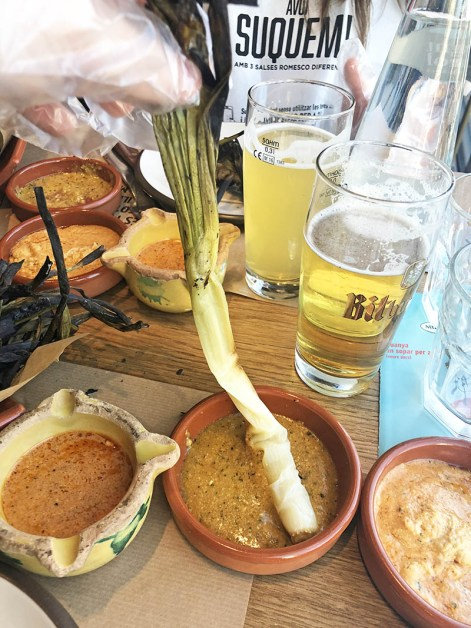 calçotada en mussol restaurant