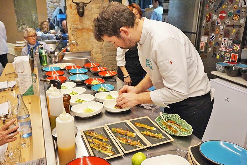 menu aq restaurant tarragona