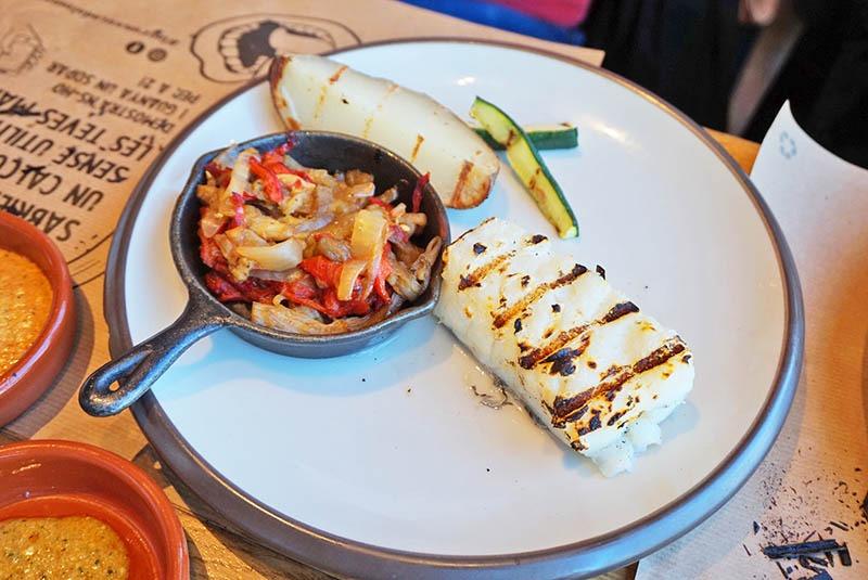 menu calçotada restaurante mussol