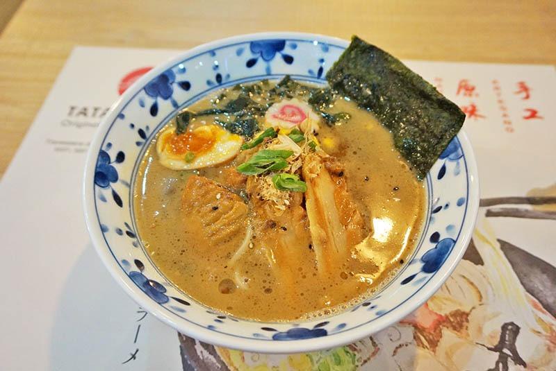 tataki ramen japonés
