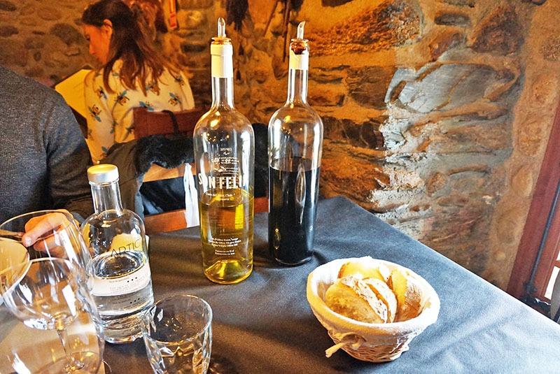 la borda del ceretà restaurante aceite y vinagre