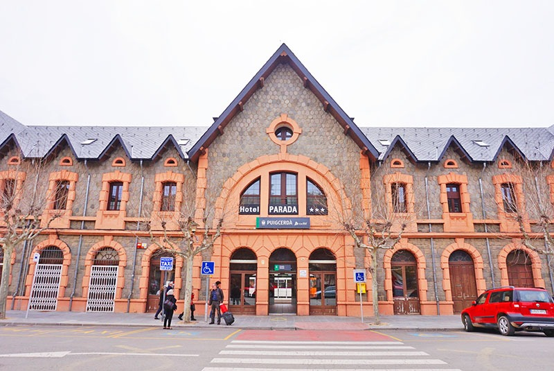 puigcerdà estación de tren