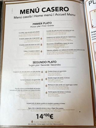 menu castell de besalú