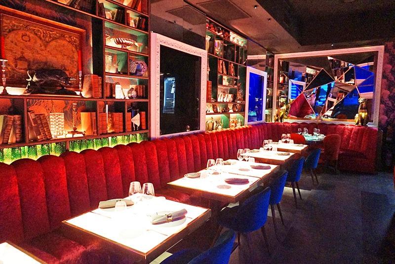 restaurante medusa y morena