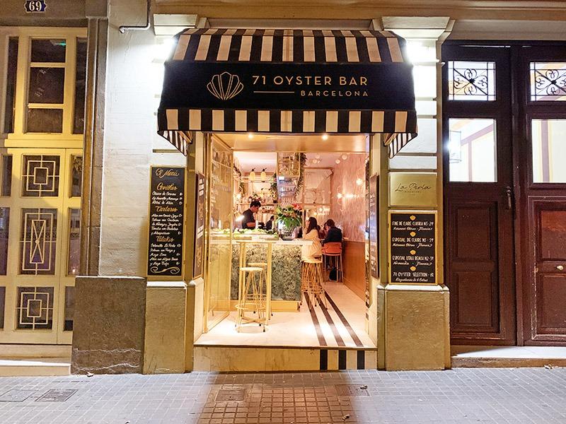 71 oyster bar