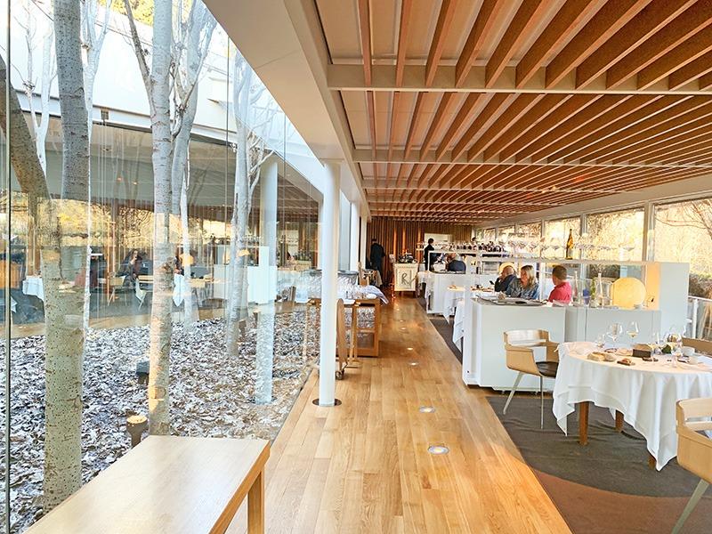 Interior del restaurante el celler de can roca 2020