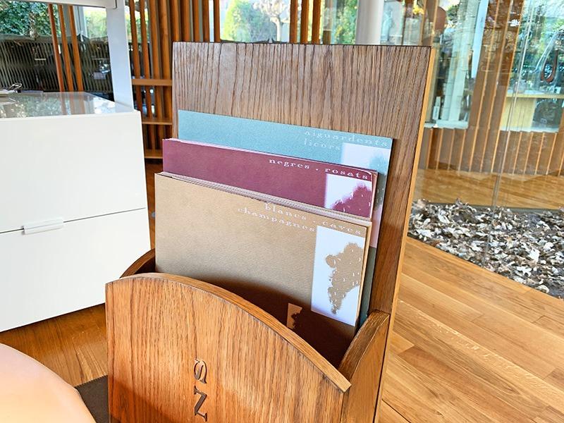 El Celler de Can Roca carta de vinos 2020
