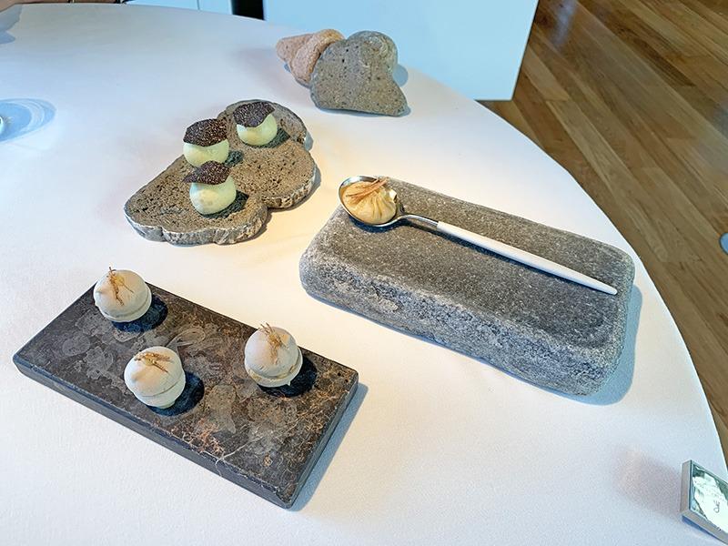 menu 2020 el celler de can roca entrantes Secuencia de trufa