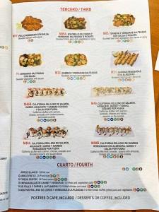 menu ramen ya senba zuru
