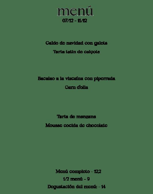 Menú Amaica Restaurant