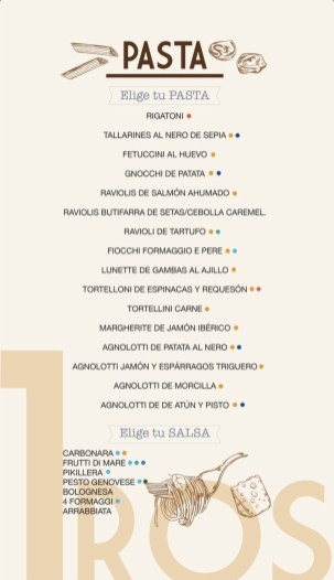 carta restaurante cibum
