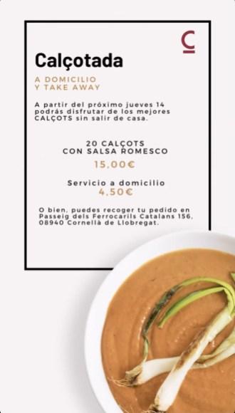 menu temporada cibum restaurant