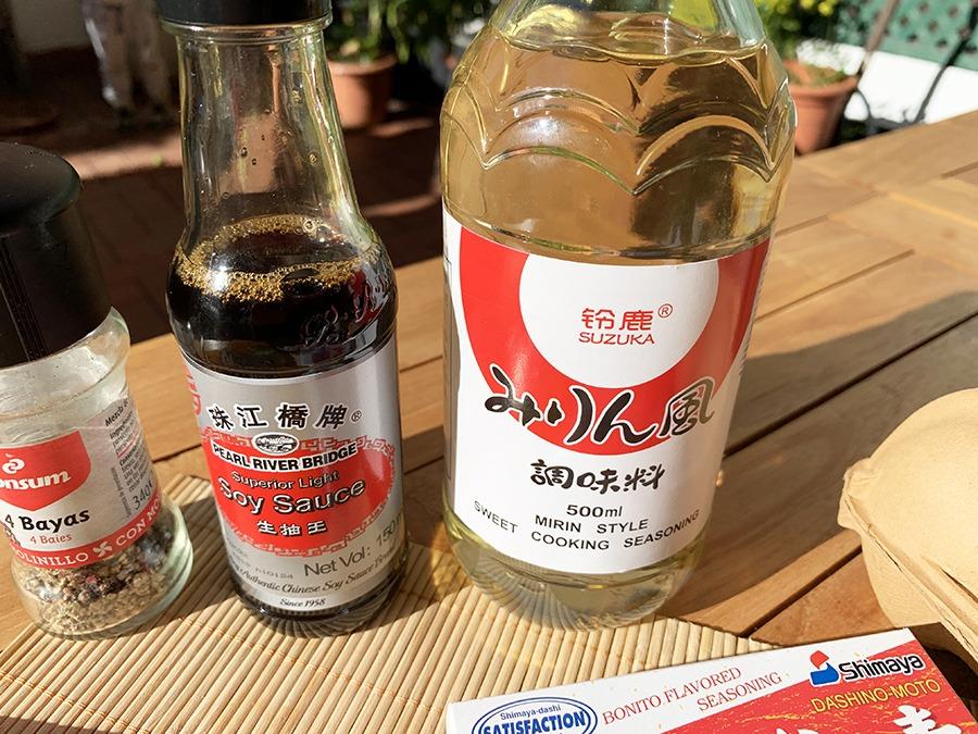 ingredientes katsudon