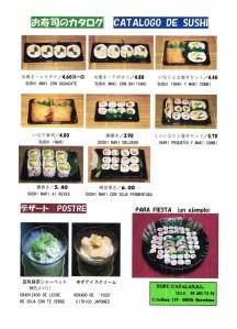 Sushi Tofu Catalán Aribau