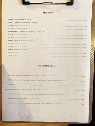 Carta Menú El Nippón Restaurante Japonés