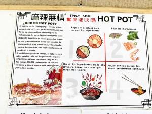 Menu Spicy Soul Hot Pot