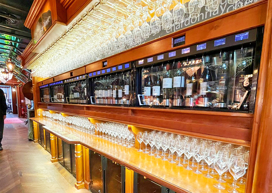 Selección de vinos Les Grands Buffets