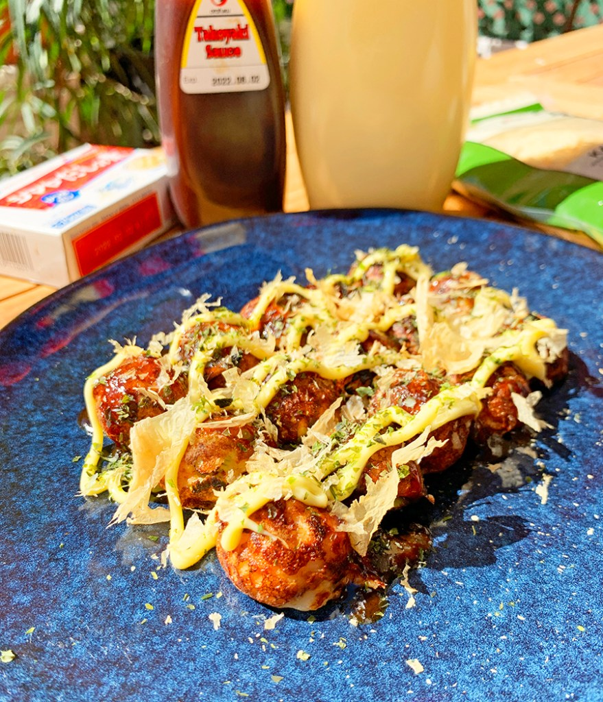 Receta de Takoyaki en Casa