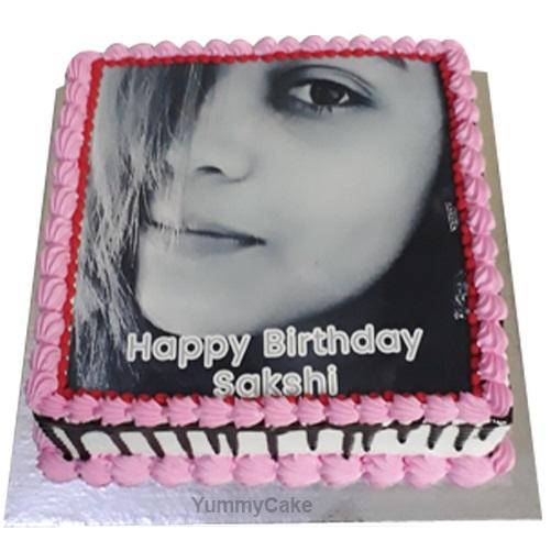 Birthday Cake With Photo And Name Best Designs Yummycake