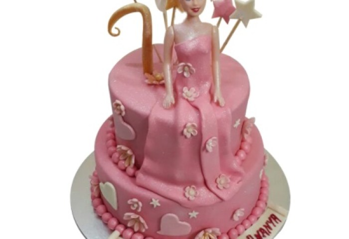 Barbie Cake Online Best Design Free Home Delivery Yummycake
