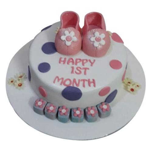 Baby Girl First Birthday Cake Online Low Price Yummycake