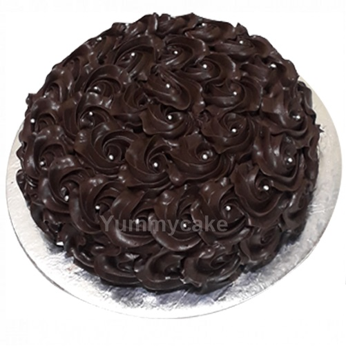 New Year Chocolate Cake Online Best Desing Yummycake