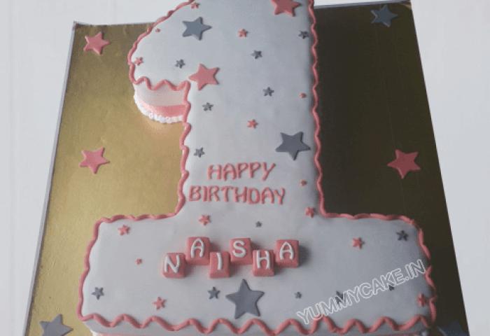 1st Birthday Cakes For Baby Girl Cake Delivery In Delhi Ncr Cake