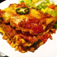 Turkey in Whole-wheat Lasagna