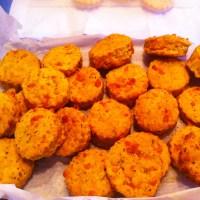 Mini Cheese & Rosemary Scones