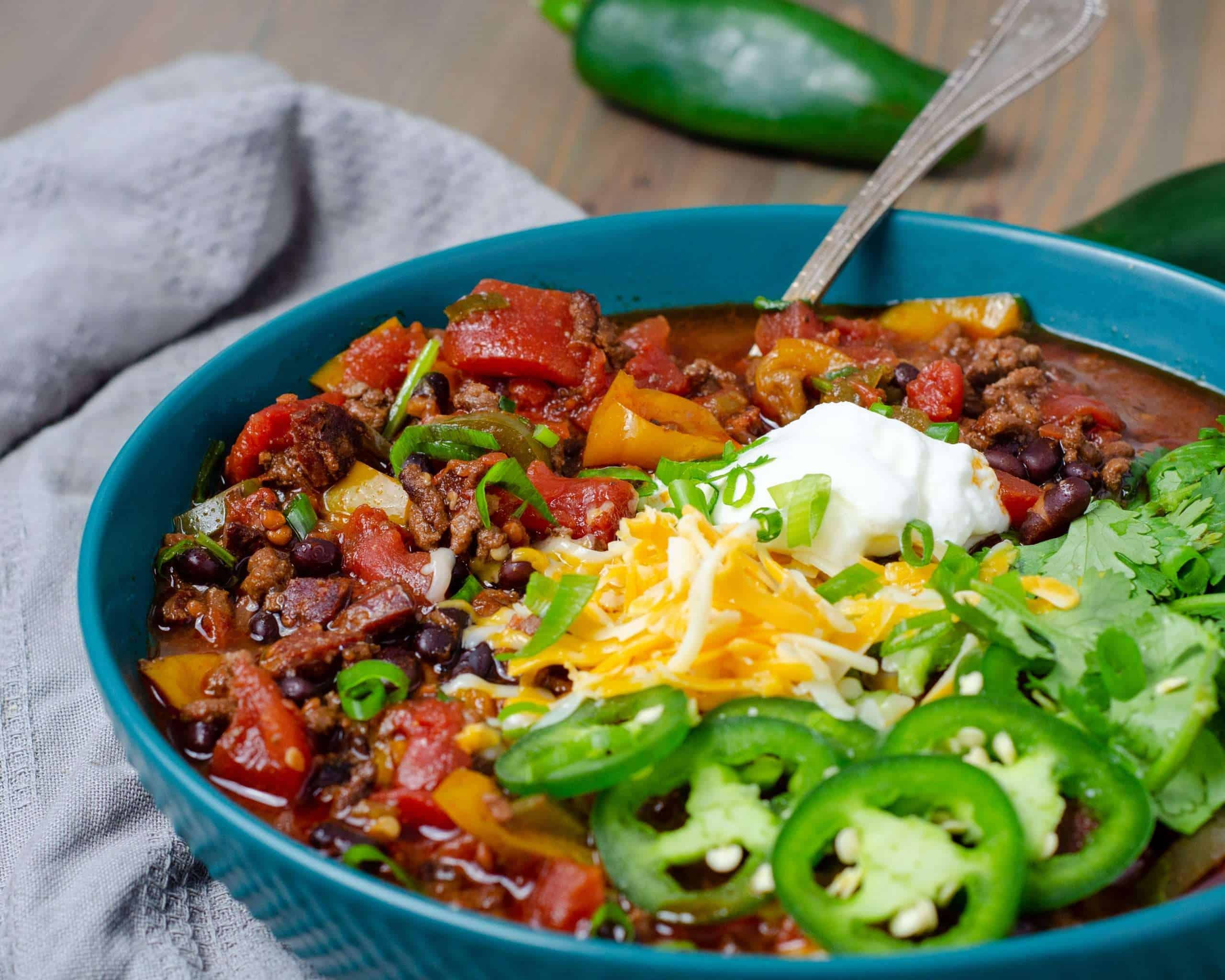 Low Carb Chili Con Carne
