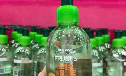 FREE 1 Garnier Sleek Shot In-Shower Styler Sample