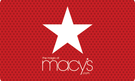 Win Big At Macys Giveaway (500$)