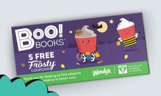 Great Wendy's Boo Books Offer