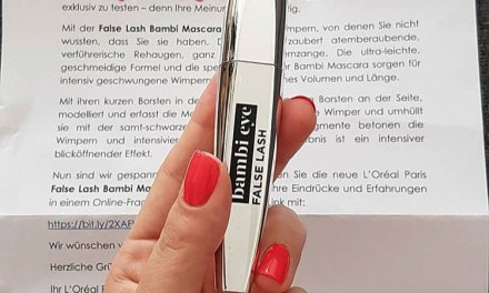 FREE L'Oreal Paris Eye Mascara