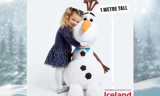 Free Giant Frozen 2 Olaf Soft Toy