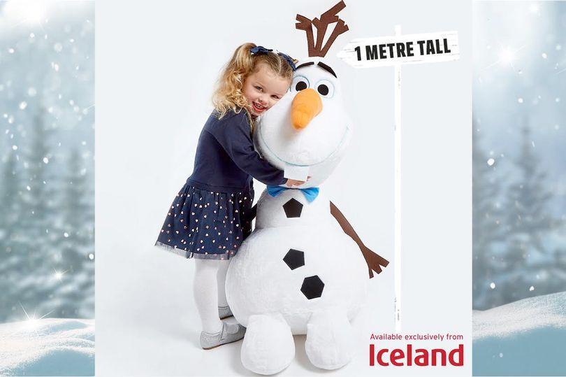 Free Giant Frozen 2 Olaf Soft Toy