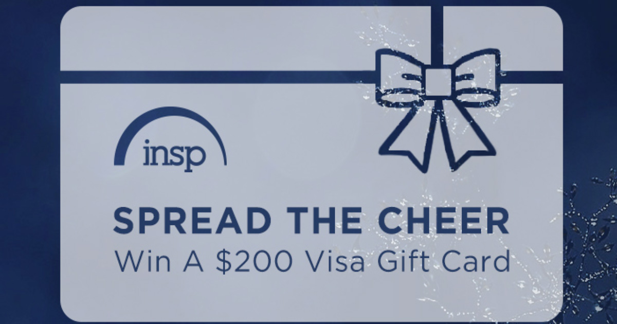 """The INSP """"Spread the Cheer"""" Sweepstakes"""