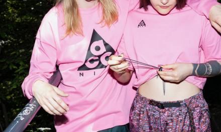 Free Pink Ribbon Walk T-Shirt and Laces