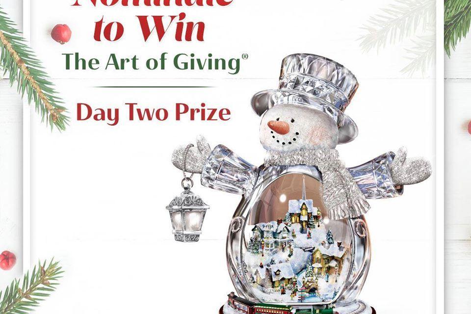 The Bradford Exchange Crystal Snowman Giveaway
